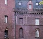 Fensterpforte, 1999, Edelstahl, Museum Schloss Moyland