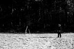 Geworfene Plastik I, Reichswald, 27.03.2002, Fotoserie, 7 Fotos, C-Print
