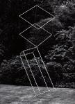 Würfel in Balance, Edelstahl, 2006