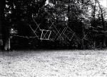 Schwebende Linien, 2006, Edelstahl, Aluminium, Artoll Labor, Bedburg-Hau