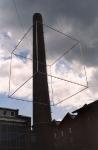 Schwebende Würfel, 2003, Edelstahl, Aluminium, Museen der Stadt Delmenhorst